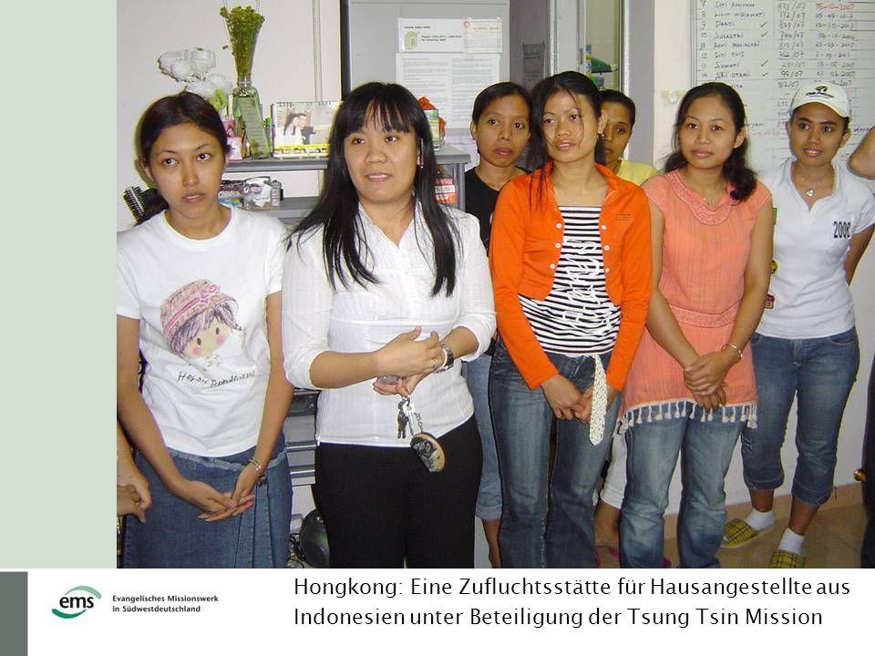 Hongkong: Eine Zufluchtsstätte für Hausangestellte aus Indonesien unter Beteiligung der Tsung Tsin Mission