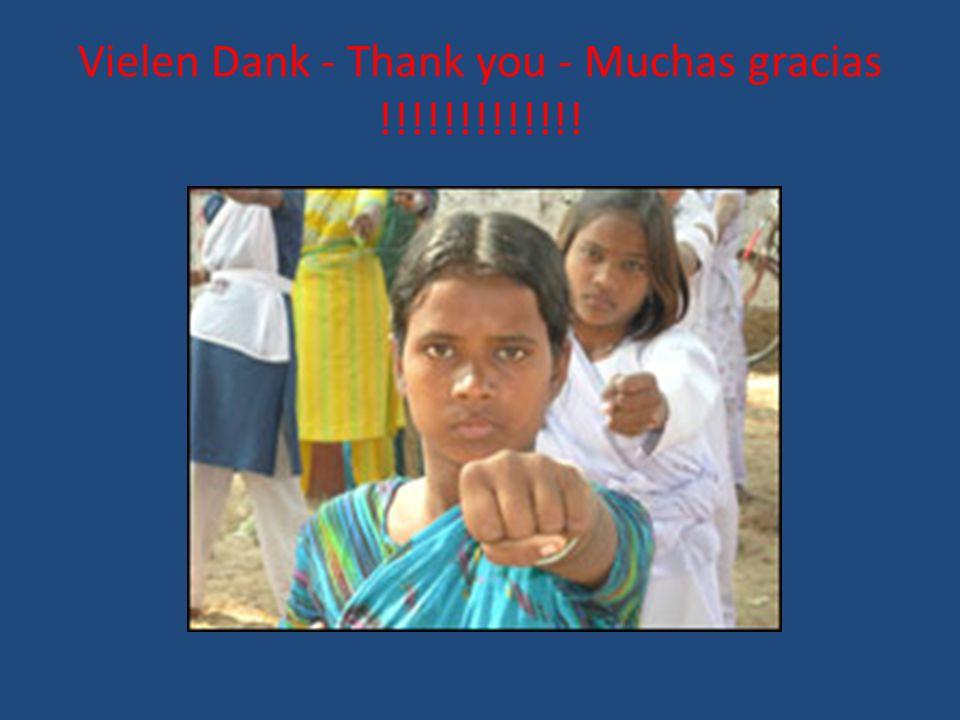 Vielen Dank - Thank you - Muchas gracias !!!!!!!!!!!!!