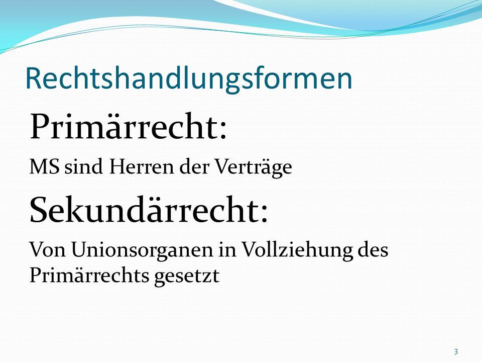 Die Klagen des Actiones-Systems Vorabentscheidungsverfahren (Art.