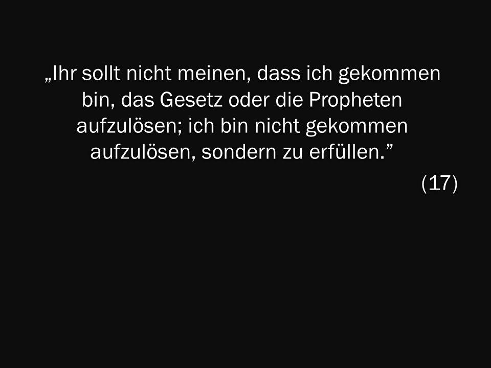 Matthäus 5,21-37