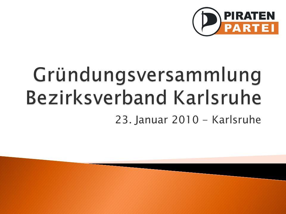 23. Januar 2010 - Karlsruhe