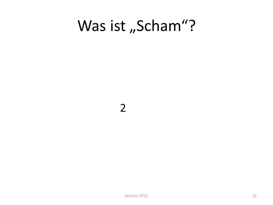 Was ist Scham? 2 Savona 201111