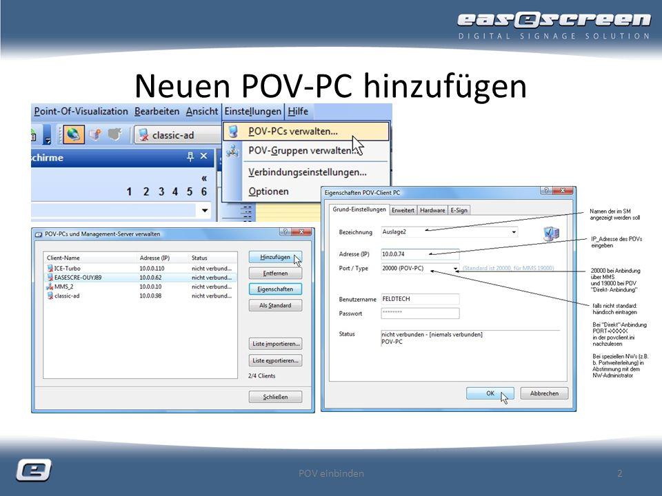 Neuen POV-PC hinzufügen POV einbinden2