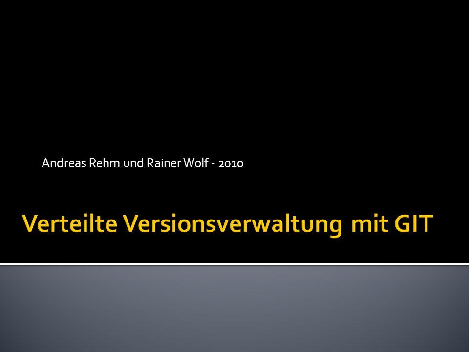 Andreas Rehm und Rainer Wolf - 2010