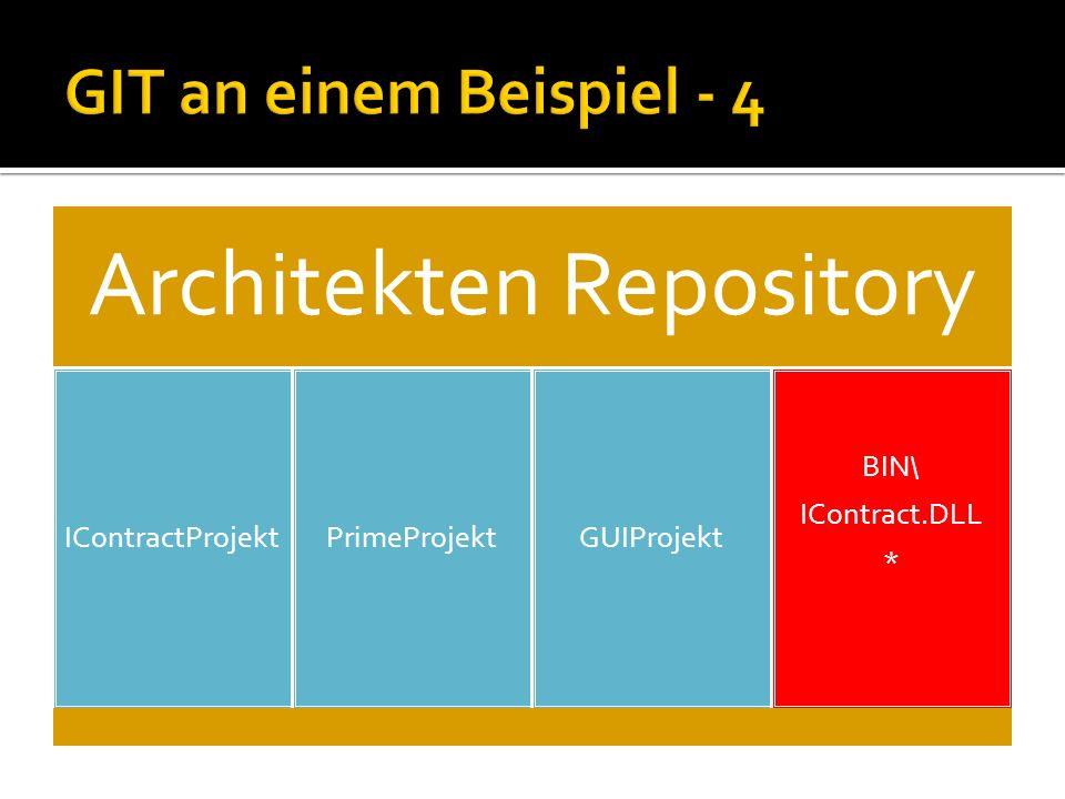 Architekten Repository IContractProjektPrimeProjektGUIProjekt BIN\ IContract.DLL *