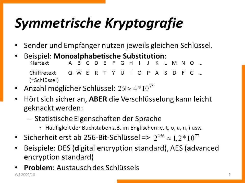 Passwortsicherheit in UNIX Lösung: – Kombination des Passwortes mit einer n-Bit-Zufallszahl (=Salt).