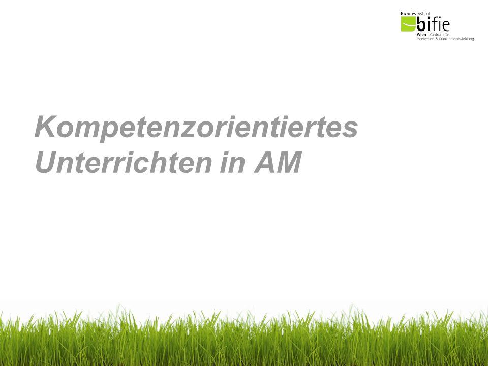 Kompetenzorientiertes Unterrichten AM B Operieren und Technologieeinsatz 1.