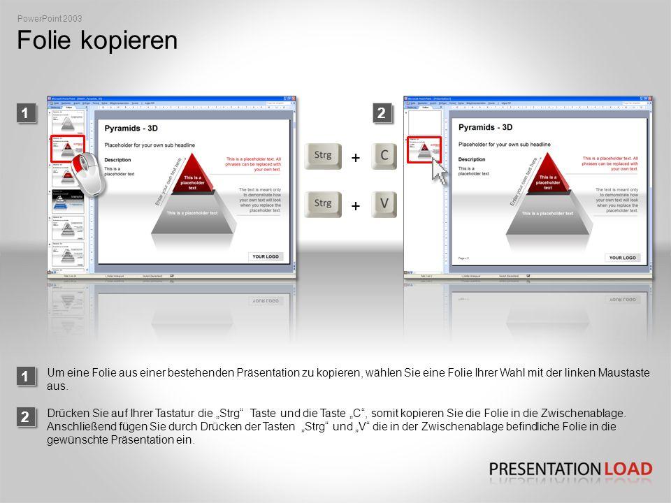 Objekt einfärben 1 PowerPoint 2010 2 Wählen Sie ein Objekt, welches Sie einfärben möchten, mit der linken Maustaste aus.