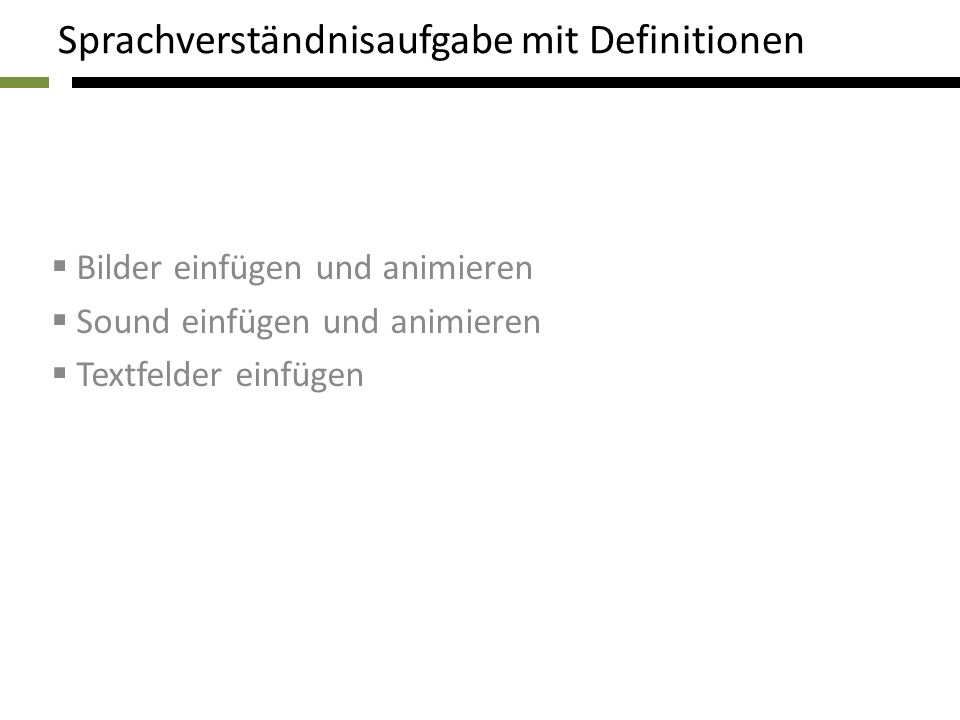 I. Radermacher - Aphasiestation - Universitätsklinikum Aachen I.