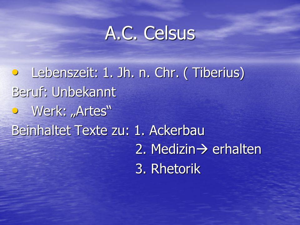 Lebenszeit: 1.Jh. n. Chr. ( Tiberius) Lebenszeit: 1.