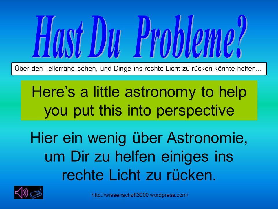 http://wissenschaft3000.wordpress.com/ Über den Tellerrand sehen, und Dinge ins rechte Licht zu rücken könnte helfen...