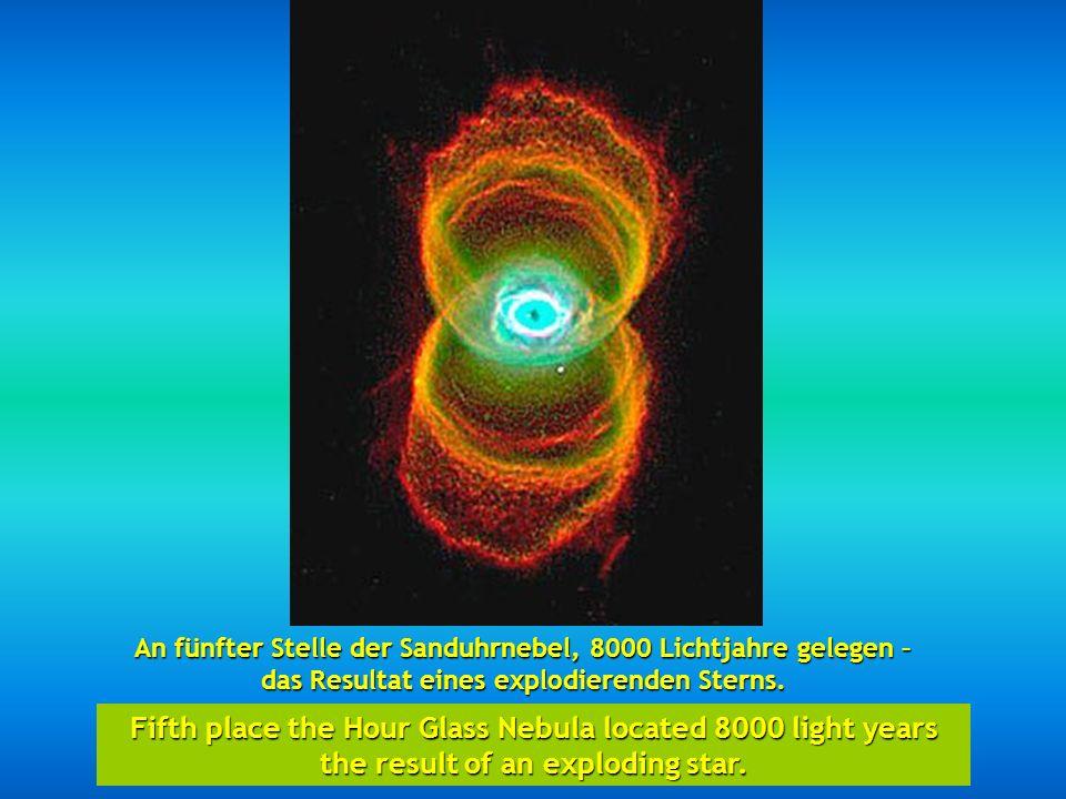 http://wissenschaft3000.wordpress.com/ An vierter Stelle der Katzenaugennebel. In fourth place the Cats Eye Nebula.