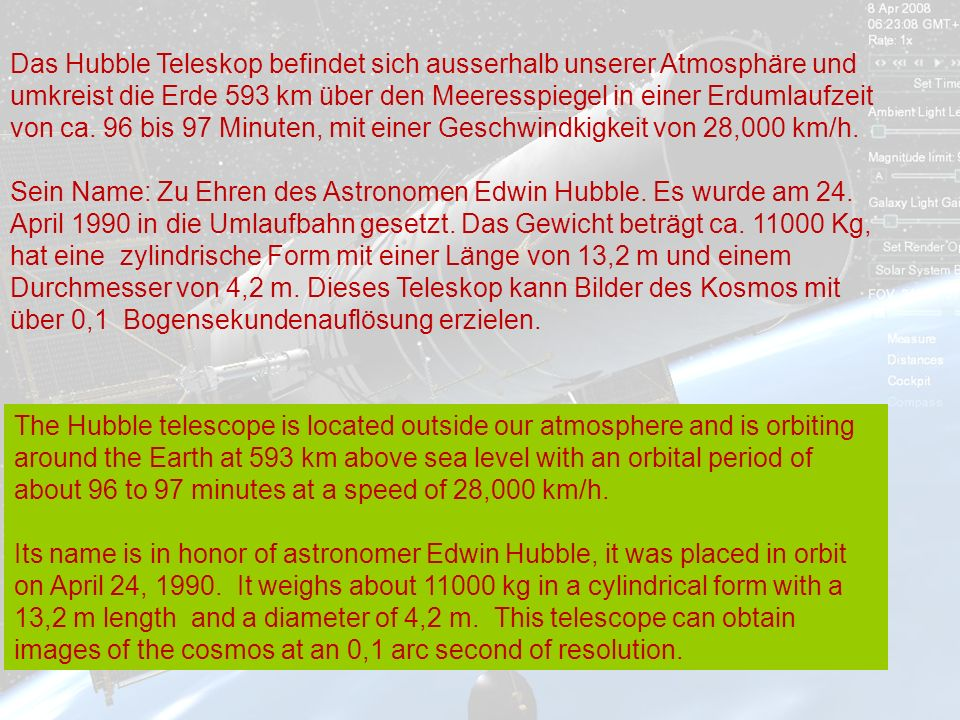 http://wissenschaft3000.wordpress.com/ Die Erde mit dem aufgehenden Mond The Earth with a rising moon