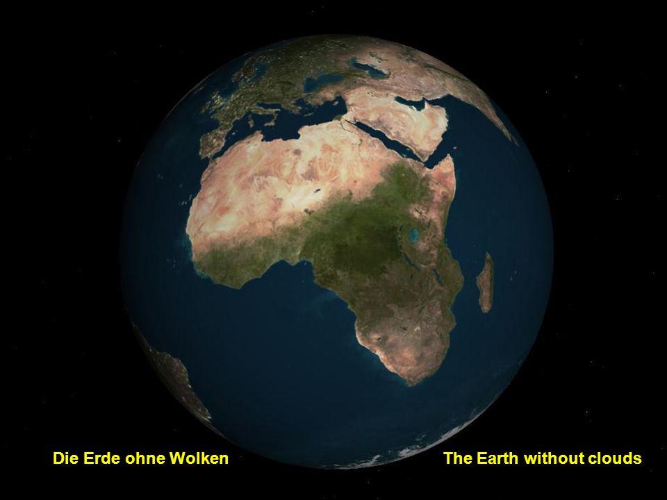 http://wissenschaft3000.wordpress.com/ Die Erde mit WolkenThe Earth with clouds