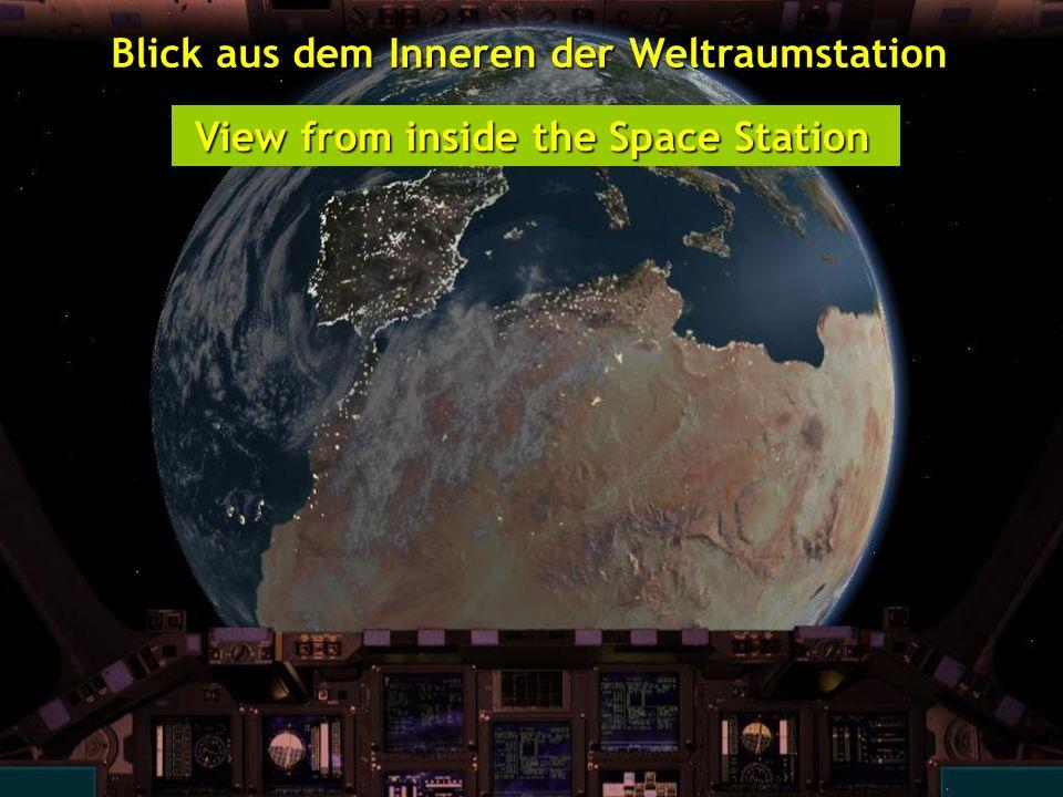 http://wissenschaft3000.wordpress.com/ Blick aus dem Inneren der Weltraumstation Blick aus dem Inneren der Weltraumstation View from inside the Space Station View from inside the Space Station