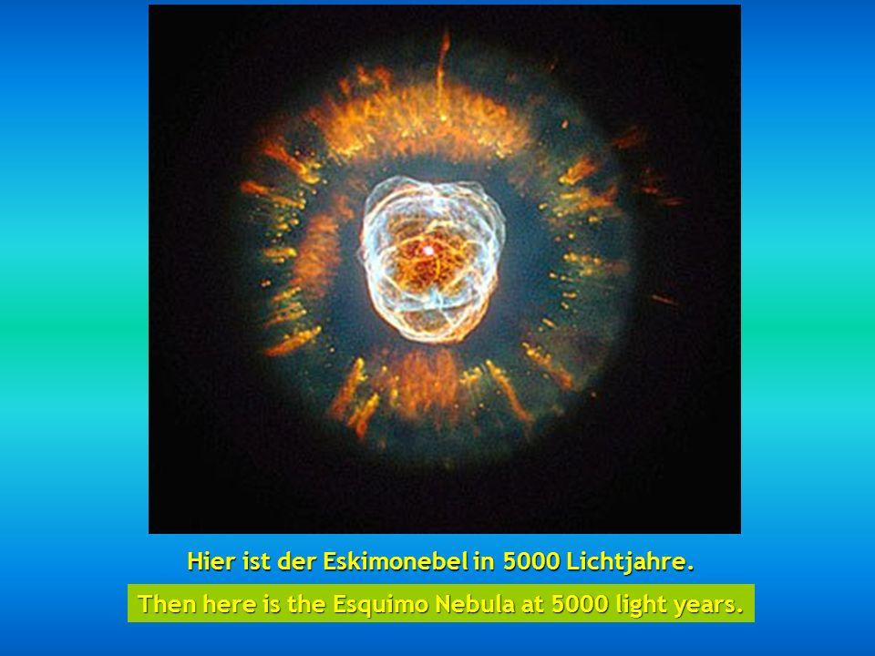http://wissenschaft3000.wordpress.com/ Dann haben wir den Ameisennebel – so genannt wegen seiner Form und in 3000 bis 6000 Lichtjahre gelegen. Then we