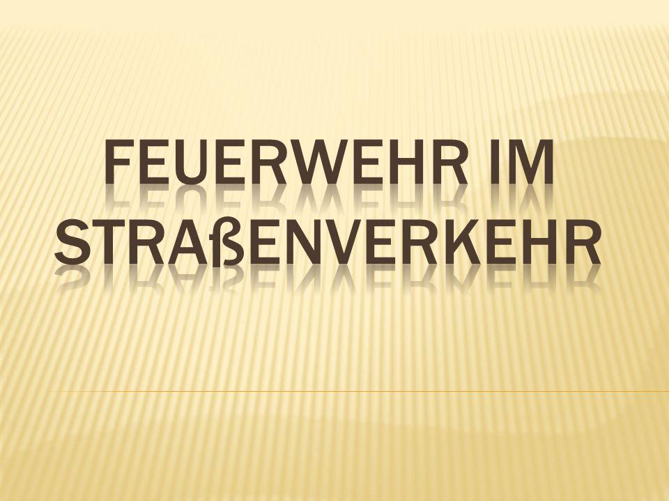 Kevin Dörr | 14.01.2013Feuerwehr im Straßenverkehr | 12 1.
