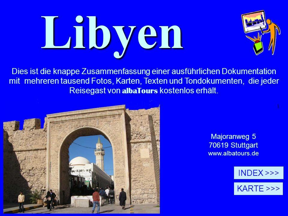 1Libyen Majoranweg 5 70619 Stuttgart www.albatours.de © Alle Rechte vorbehalten.