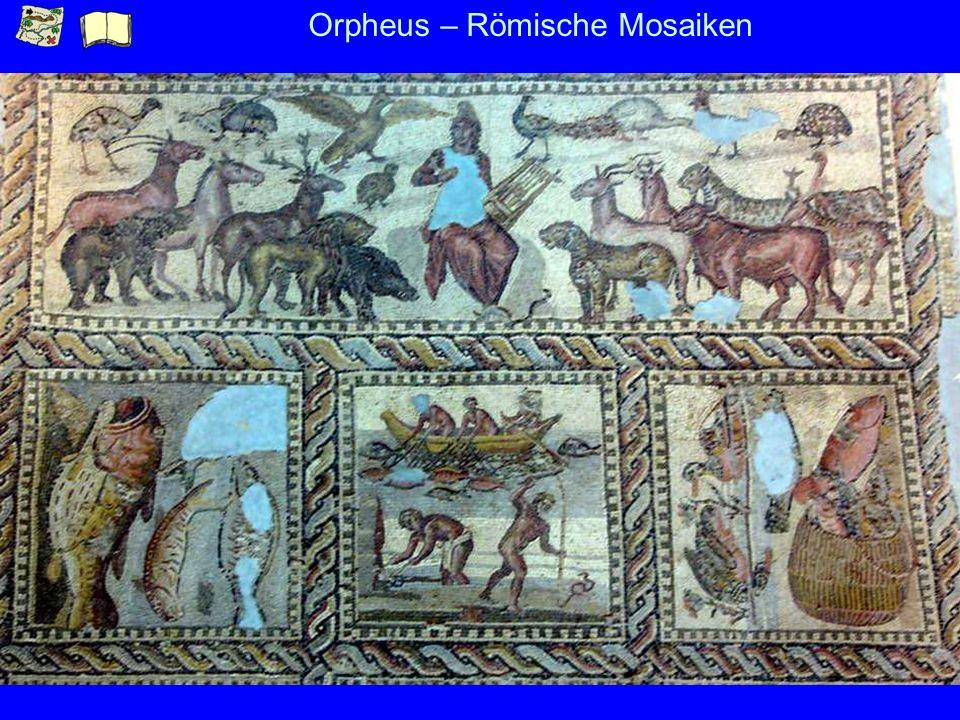 Orpheus – Römische Mosaiken