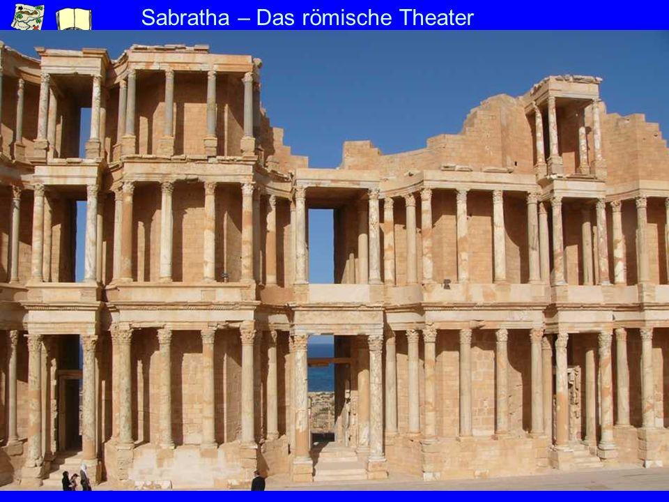 Sabratha – Das römische Theater
