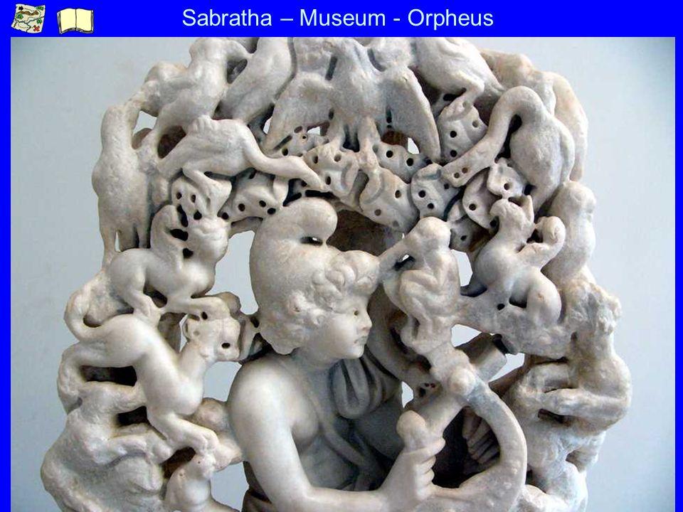 Sabratha – Museum - Orpheus