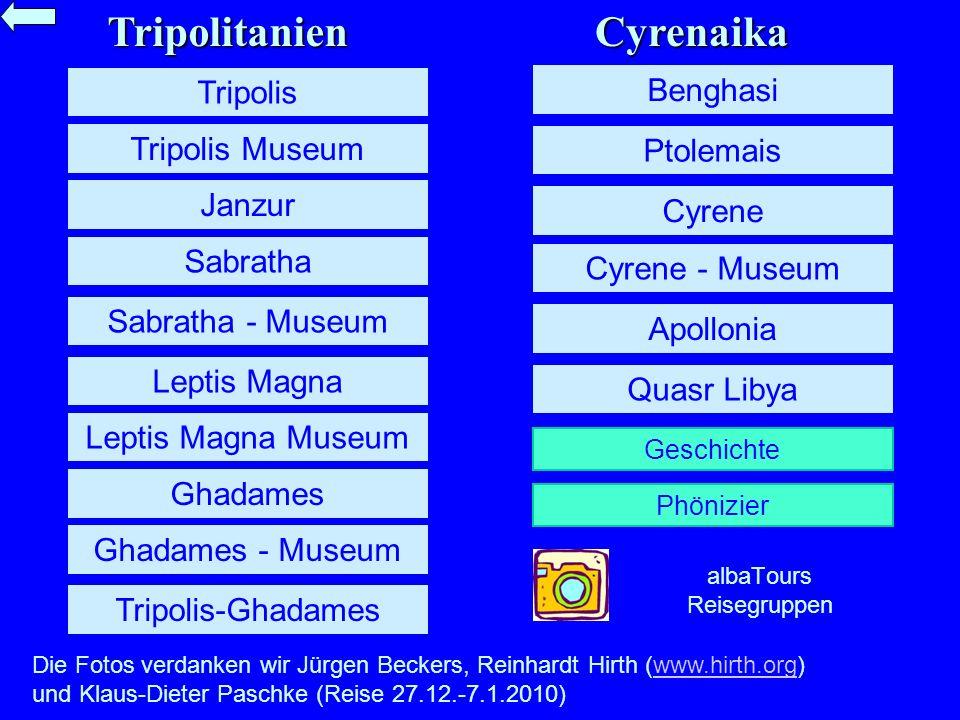 Cyrene – Der klassische Tempel