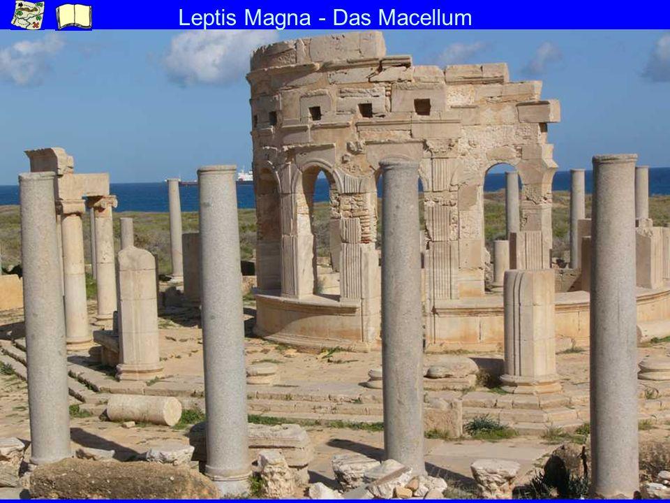 Leptis Magna - Das Macellum