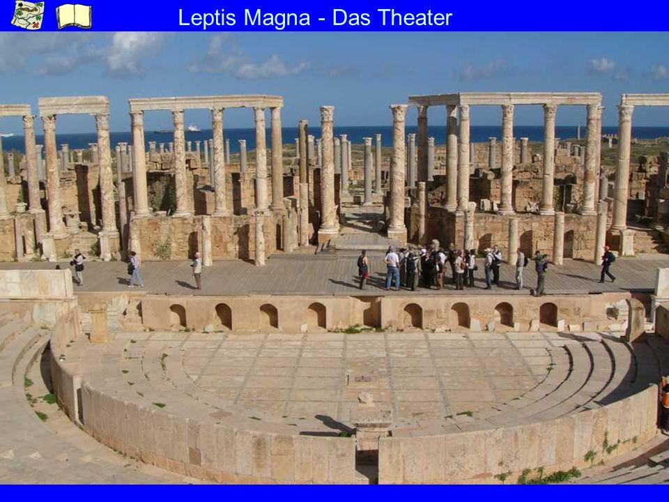 Leptis Magna - Das Theater