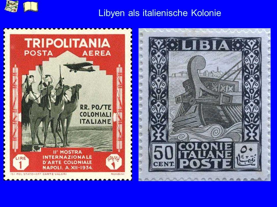 Libyen als italienische Kolonie
