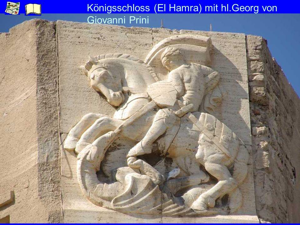 Königsschloss (El Hamra) mit hl.Georg von Giovanni Prini