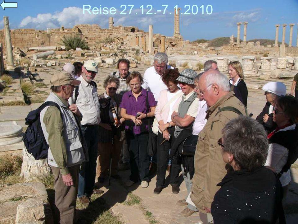 Reise 27.12.-7.1.2010