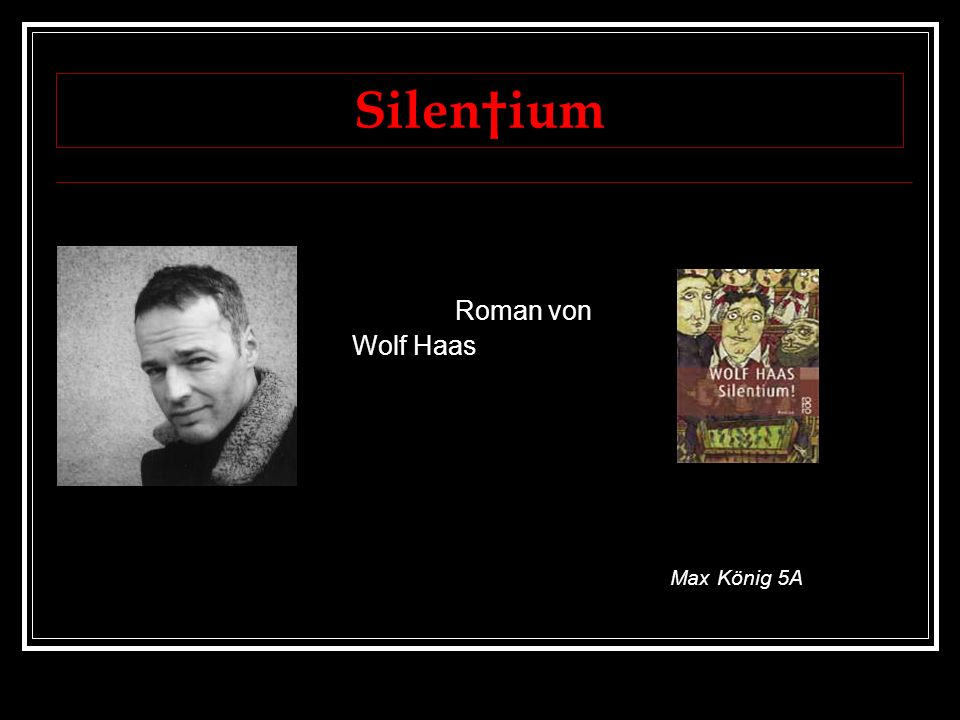 Autor (1) 1960 in Maria Alm geboren Mutter und Vater waren Kellner 1970 kommt er in ein Internat studierte Germanistik und Linguistik in Salzburg Aufenthalt in Südwales als Universitätslektor