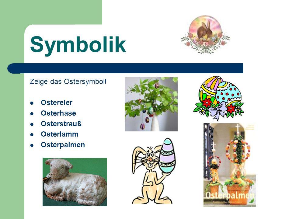 Das Osterfest – ein Fest der Familie Teil 1 Das Osterfest besteht aus dem Palmsonntag, der Karwoche und Auferstehungsfeier Christi.