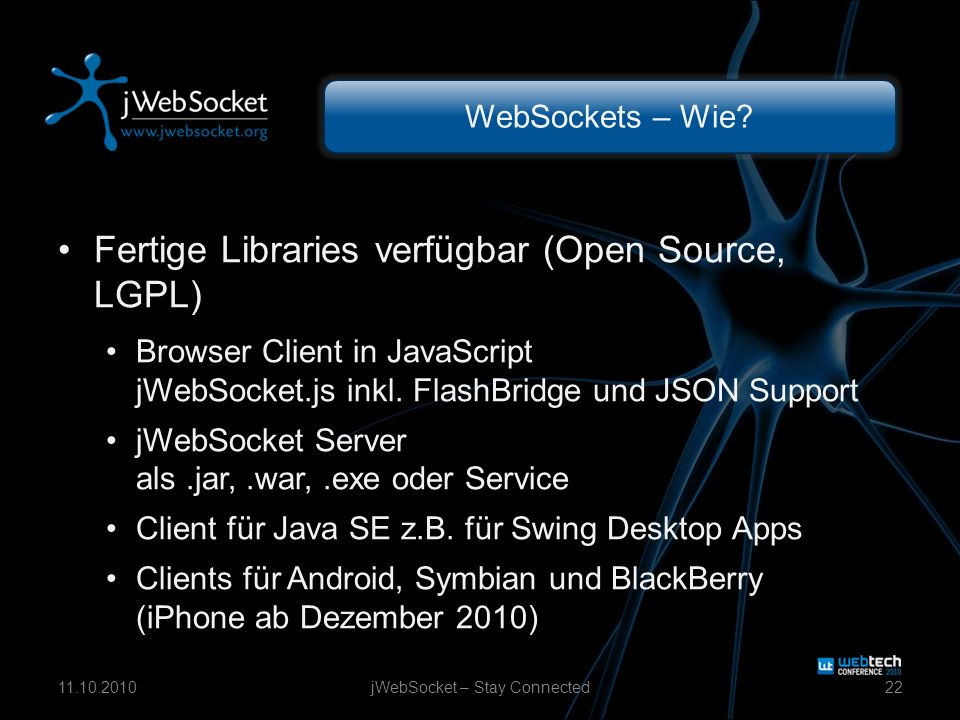 WebSockets – Wie.