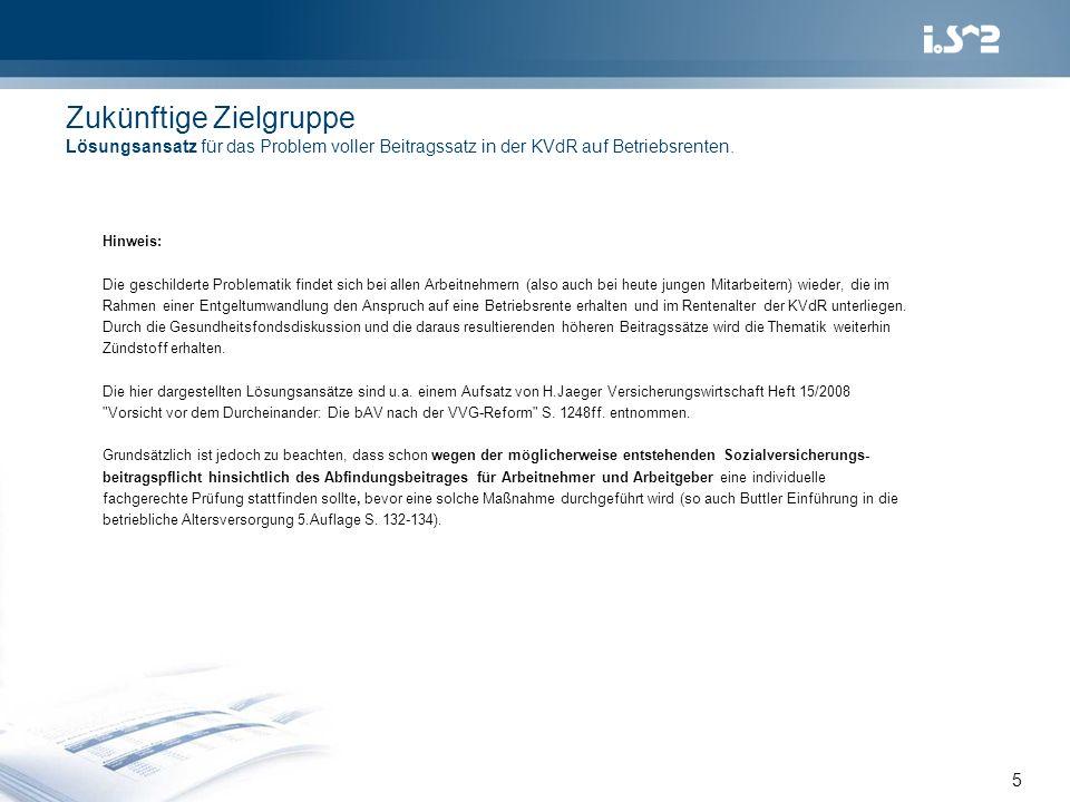 ...weitere Literaturhinweise zum Thema Wiederanlage 6 Verlag Versicherungswirtschaft ISBN 978-3-89952-337-9