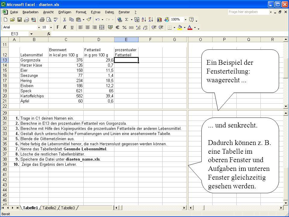 Einführung zu Excel 97 - Ende des Themas: Start -