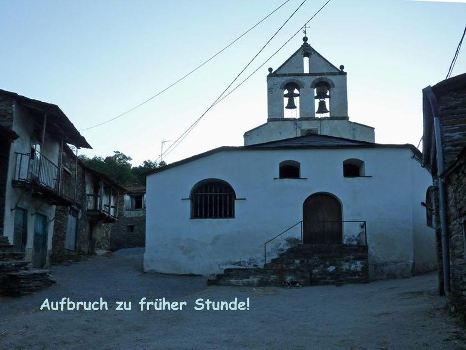 Camino de Santiago IV Im Kloster Samos Schön ist eigentlich alles, was man mit Liebe betrachtet.