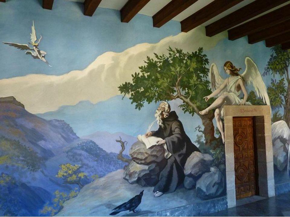 Fresken aus dem 20. Jahrhundert im Kreuzgang