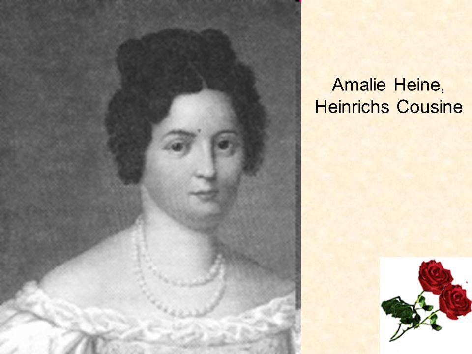 Amalie Heine, Heinrichs Cousine