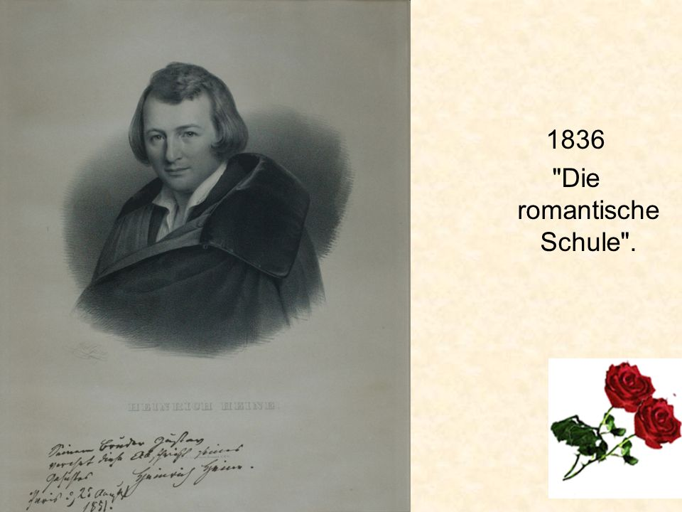 1836 Die romantische Schule .