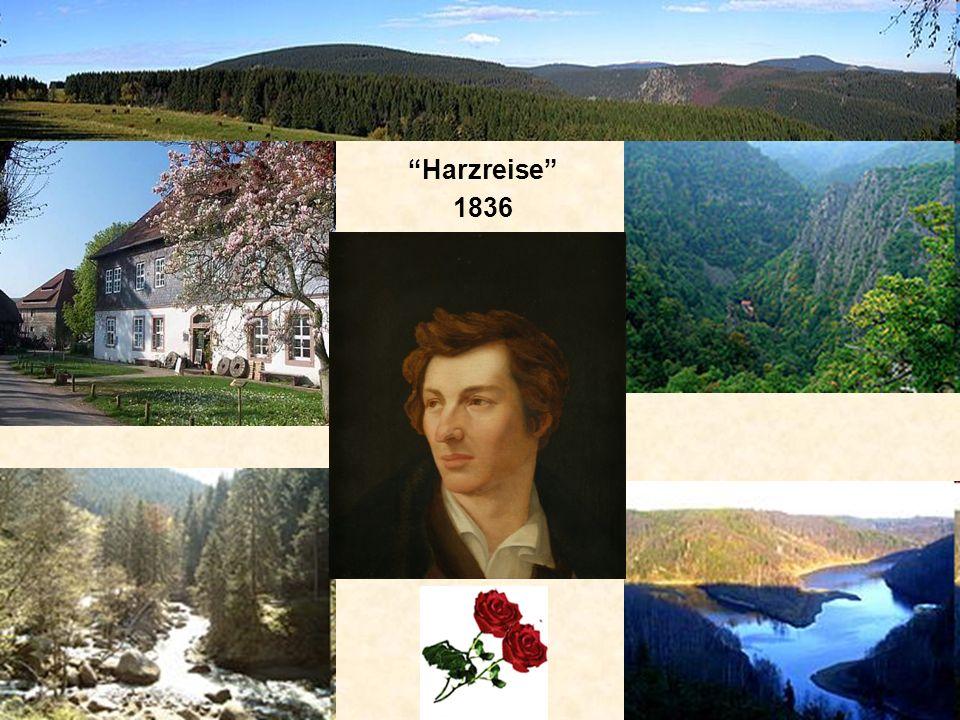 Harzreise 1836