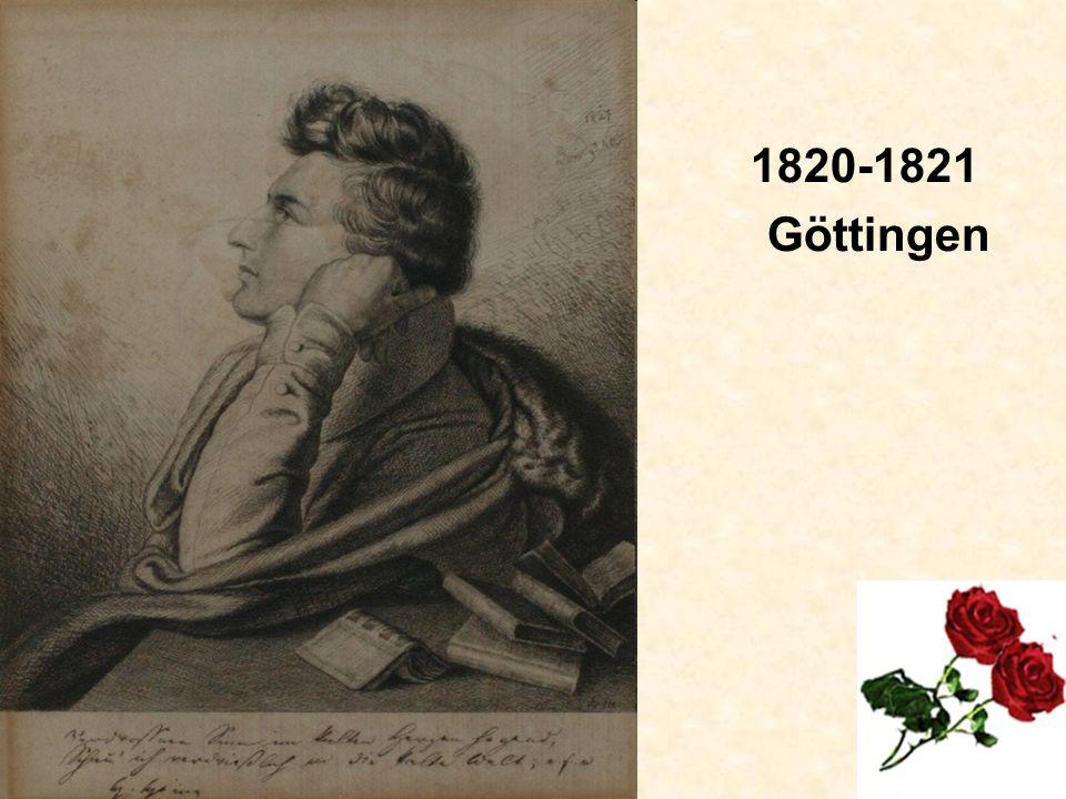 1820-1821 Göttingen