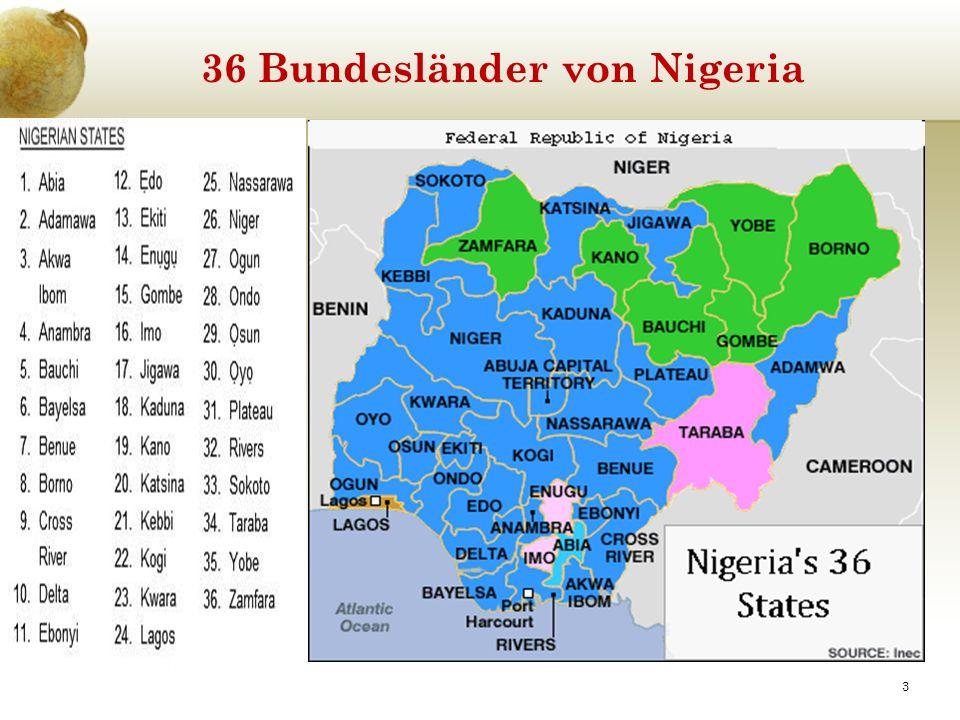 36 Bundesländer von Nigeria 3