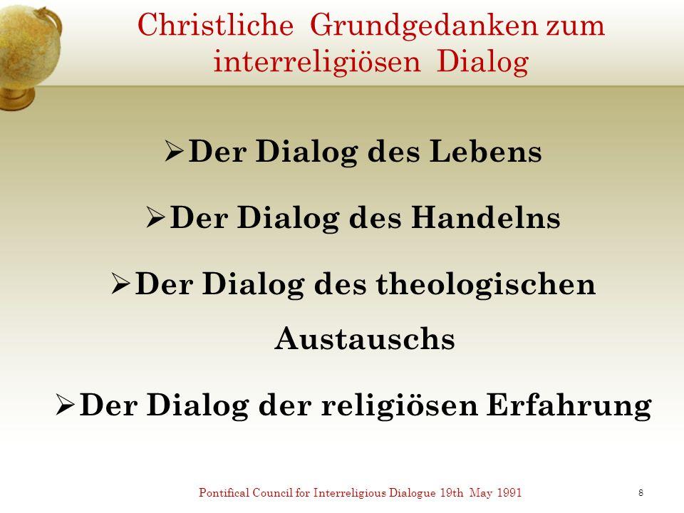 Koranische Charta für Religiösen Dialog 1.Vermeide religiöse Diskussionen (40:4; 22: 67-69) 2.