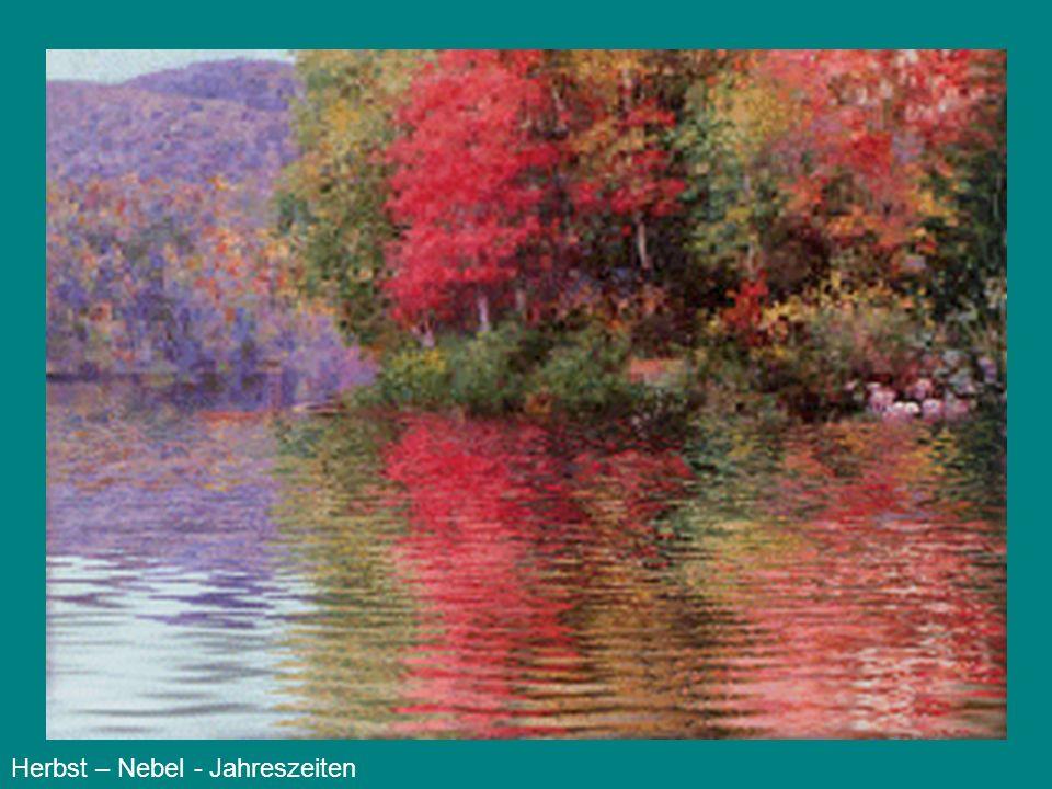 Der Herbst … eine neblige Jahreszeit