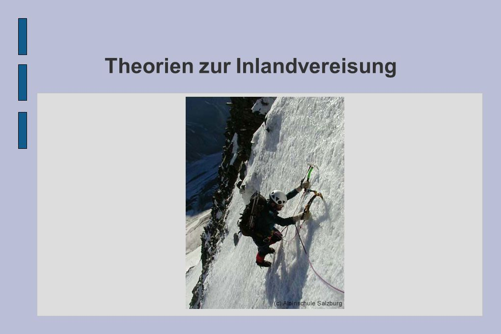 Theorien zur Inlandvereisung Outline 1.