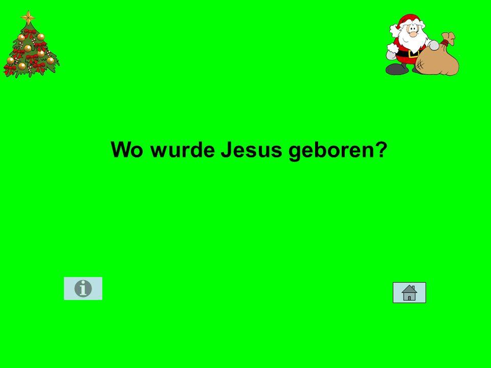 Wo wurde Jesus geboren?