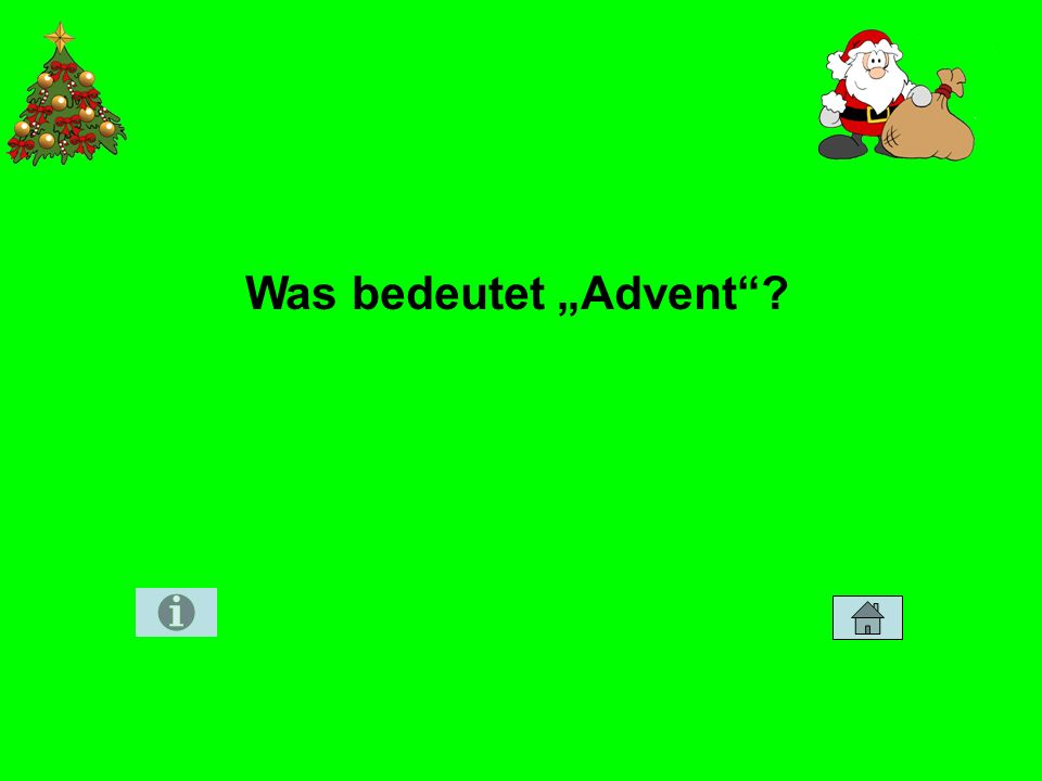 Was bedeutet Advent?