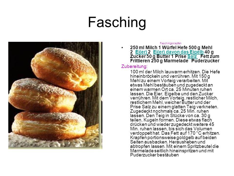 Fasching - Glossar Karneval – Fasten – Konfetti – Fasching – Fastnacht – Rosenmontag – Schermittwoch usw.