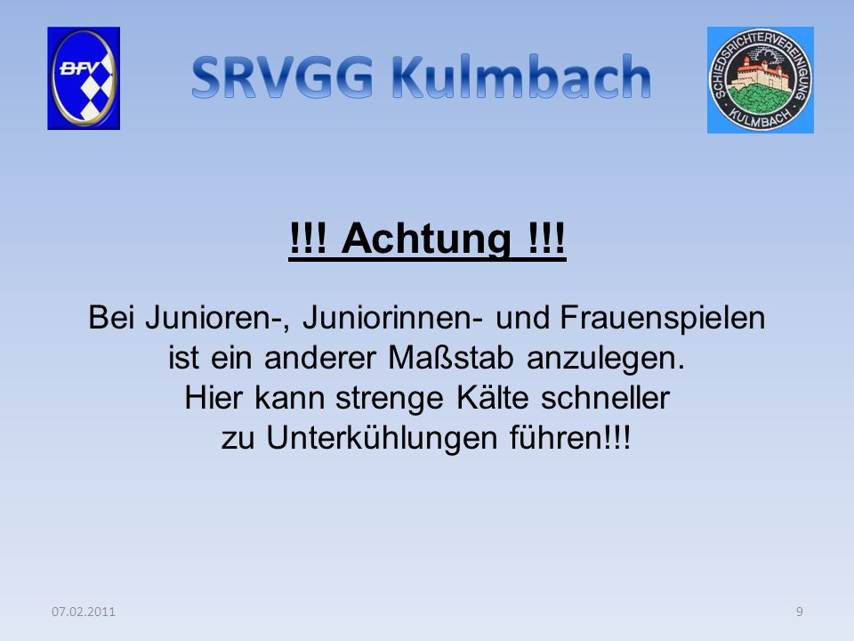 07.02.20119 !!. Achtung !!.